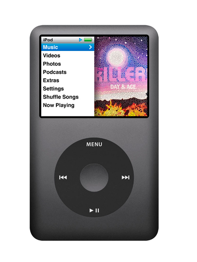160GB Black iPod